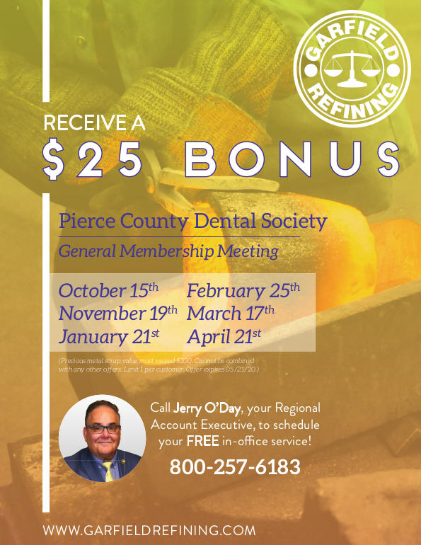Pierce County Dental Society Garfield