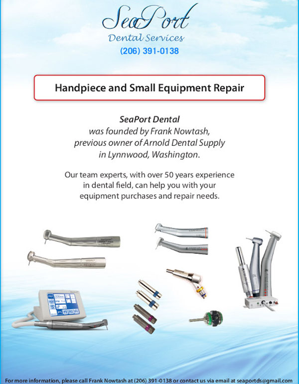 SeaPort Dental Flyer November